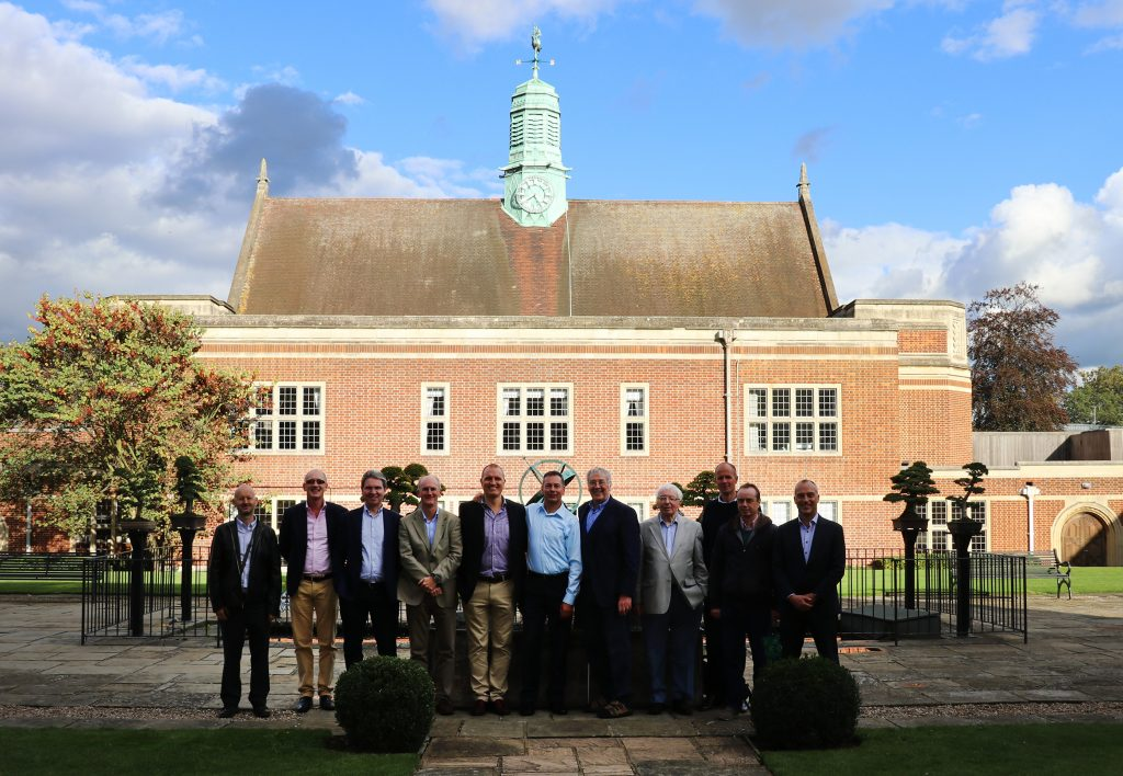 Pupils (all from 6ScA 1982-1983) - Philip Beck, David Drinkwater, Stuart Butler-Smith, Richard Pavesi, Richard Newman, Richard O'Meara, Alan Ross Guy, Graham Johnson, Ian McGillivray, Craig Tillotson