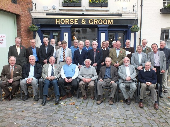 From Left to Right Seated: Grant Eustace, Brian Councell, Mike Wilkinson, Paul Champness, Ken Ellis,Richard Nelmes, David Penfold, Peter Souster     Standing: Richard Elliott, Graham Hill, Gordon Brackstone, Iain Aitken, Stuart Lord, Tony Bairstow, Mike Smith, Duncan Murray, Trevor Grant, Allan George, Chris Smith, David Goodwin, Ray Knight, Robin Jenkin, Peter Cox, Robin Holt, David Elliott, Tony Stockwell, Nigel Carter