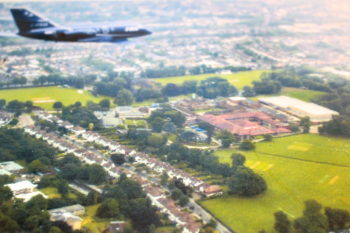 Aircraft over Whitgift