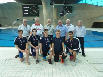 BOYS Tanglin Ireland, Finn Slattery, Will Ward, Charlie Goriup, Luke Stacy OWs (l to r) Tony Harrison, William Clark, Bob Campion, John Nalson (C), Robin Snell, Dale Mockford