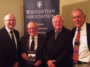 Stuart Woodrow, David Raeburn, Pip Burley and Peter Cox