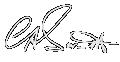 Dr Barnett signature white