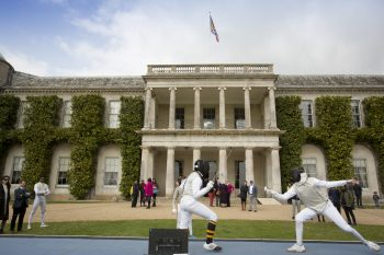 Fencing at Goodwood