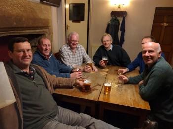 L to R:- Robert Dalman, Richard Roddie, Ed Andrews, Dave Hebden, Graham Norman, Nick Morgan