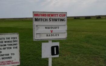 Golf - Halford Hewitt 2019