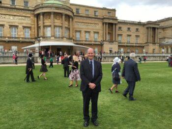 Keith Smith at Buckingham Palace