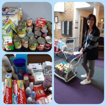 NFTS - volunteer food deliveries