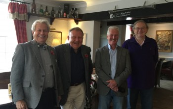 L to r: John Bowerman-Davies, Howard Bairstow, Chris Palmer, David Munns