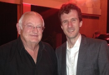 WA Chairman Pip Burley with BAFTA award winning OW Matt Kelly.