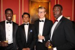 Rahmon Agbaje, Arman Uddin, George Littlemore and Stefan Amokwandoh