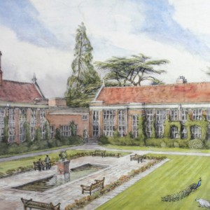 School Print_Andrew Quad (Medium)