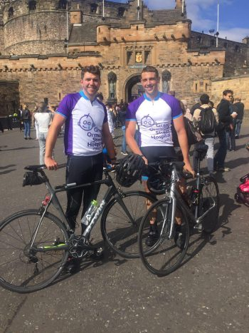 Tour de Edinburgh 2 - 2 men. 2 bikes. 400 miles. 48 hours