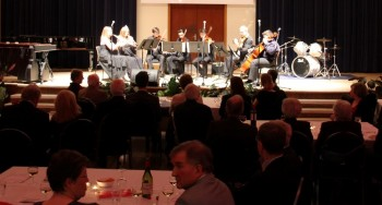 Whitgift Gallery Strings playing at last year's music soiree