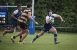 Whitgift School 1st XV versus Wellington School rugby match on Big Side, Croydon. 24th September 2016. Photography by Fergus Burnett.